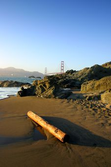 Free Baker Beach, San Francisco Stock Image - 1790161