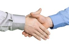 Free Handshake With A Background Stock Images - 1790694