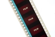 Free Strip Of Red Movie Film 1 Stock Images - 1791594