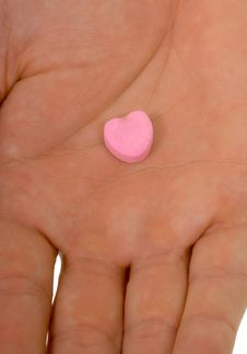 Free Blank Conversation Heart - Add Your Own Text Royalty Free Stock Images - 1791689