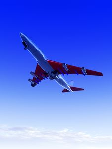 Free Plane Flying 70 Royalty Free Stock Image - 1791746