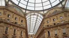 Free Galleria Vittorio Emanuelle In Milan Royalty Free Stock Photography - 1791867