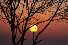 Free NatureTech Sunset Stock Image - 1792051