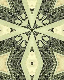 Free 20$ Bill Cross Stock Images - 1792994