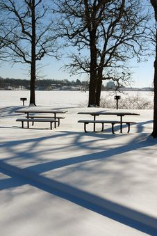 Free Winter At Bryant Lake Stock Photos - 1793913
