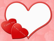 Free Valentine Border Royalty Free Stock Images - 1794959