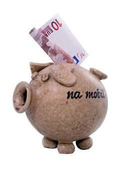 Free Piggy Bank And Euro Stock Image - 1794981
