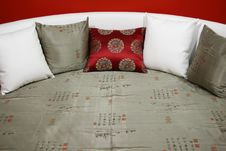 Free Pillow On Sofa Stock Photography - 1795022
