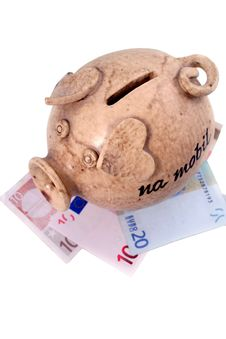 Free Piggy Bank And Euro Stock Images - 1795174