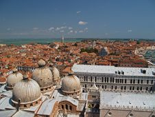 Free An Aerial View Of Venice City From Bell Tower Royalty Free Stock Image - 1796346