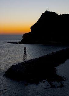 Free Sunset On The Harbor Stock Image - 1796941