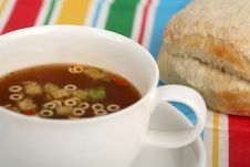 Free Cup Of Soup Stock Image - 1797201