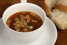 Free Cup Of Soup Royalty Free Stock Photo - 1797205