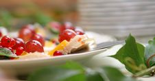Cherries On The Cake Royalty Free Stock Photography