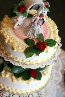 Free Delicious Weeding Cake Stock Photo - 1799690