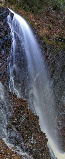 Free Hyperbola (Carpathian Waterfall) Stock Image - 1799691