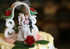 Free Tasty Weeding Cake Royalty Free Stock Photos - 1799738