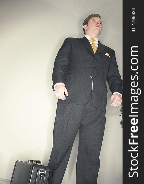 Busienssman standing