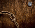 Free Compass And Rope Stock Photography - 17906222