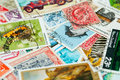 Free Stamp Collection Stock Images - 17906934
