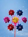 Free Colorful Pinwheel Royalty Free Stock Image - 17906986