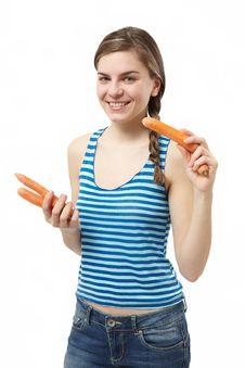 Free Carrots Stock Photo - 17900660
