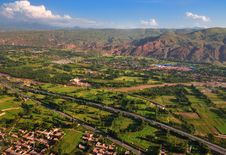 Free Look At China From Airborne ,Earth,Farmland Royalty Free Stock Photo - 17901055