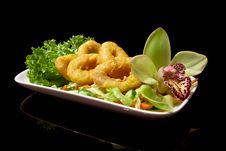 Free Japanese Shrimp Tempura Royalty Free Stock Photo - 17901575