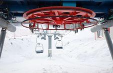 Free Ski Lift Equipment Stock Images - 17901804