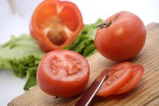 Free Tomatoes Royalty Free Stock Photography - 17902017