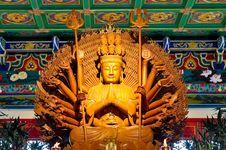 Free Image Of Bodhisattva Guan Yin Royalty Free Stock Photo - 17902345