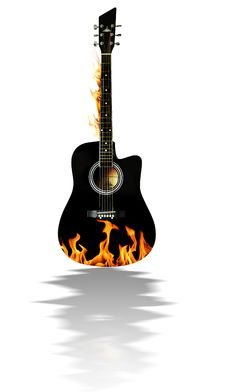 Free Acoustic Guitar Stock Photos - 17902943