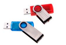 Usb Flash Card Stock Photography