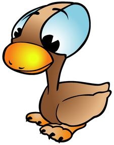 Free Brown Duck Royalty Free Stock Photo - 17903225