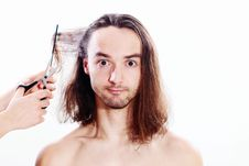 Free Hair Cutting Stock Photography - 17903362