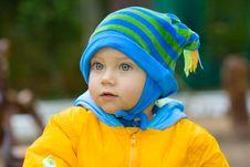 Sweet Baby Boy Stock Image