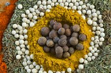 Free Spice Background Stock Image - 17903991