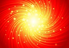 Free Red Shining Stars Royalty Free Stock Images - 17904149