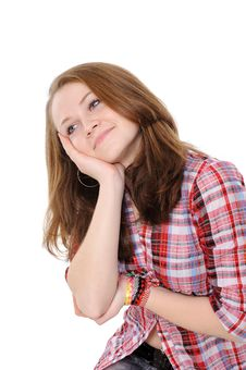 Free Portrait Of A Beautiful Teenager Stock Images - 17905004