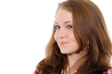 Free Portrait Of A Beautiful Teenager Royalty Free Stock Photography - 17905007