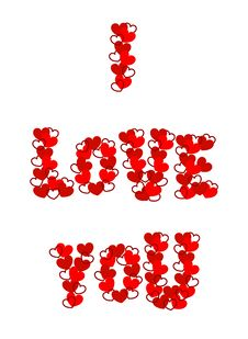 Free I Love You Stock Photo - 17906060