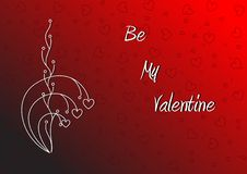 Free Be My Valentine Wallpaper Stock Photography - 17906362