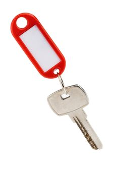 Free Key With Red Nameplate Stock Images - 17909254