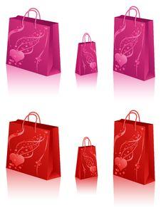 Free Shopping Bag Royalty Free Stock Photo - 17909255