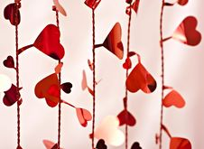 Heart Background. Stock Photography
