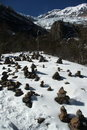 Free Tibetan Prayer Stones Stock Image - 17910111