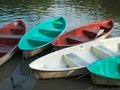 Free Five Paddle Boats Made Of Fiberglass Stock Image - 17916991