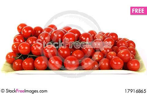 Free Cherry Tomato Royalty Free Stock Photo - 17916865