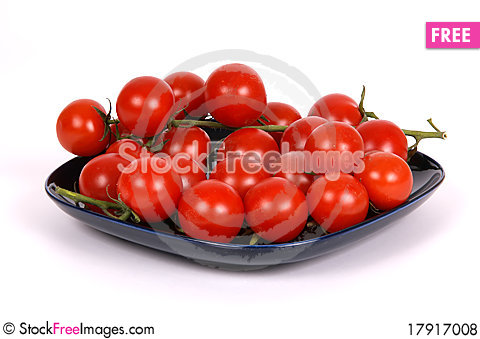 Free Cherry Tomato Royalty Free Stock Photos - 17917008
