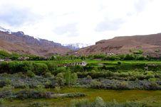 Ladakh Landscape Royalty Free Stock Photography